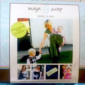 Maya wrap ring sling